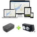 Trackitt Portable GPS Tracker + Magnet Box