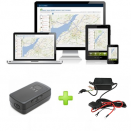 Trackitt Portable GPS Tracker + 12V 24V Adapter
